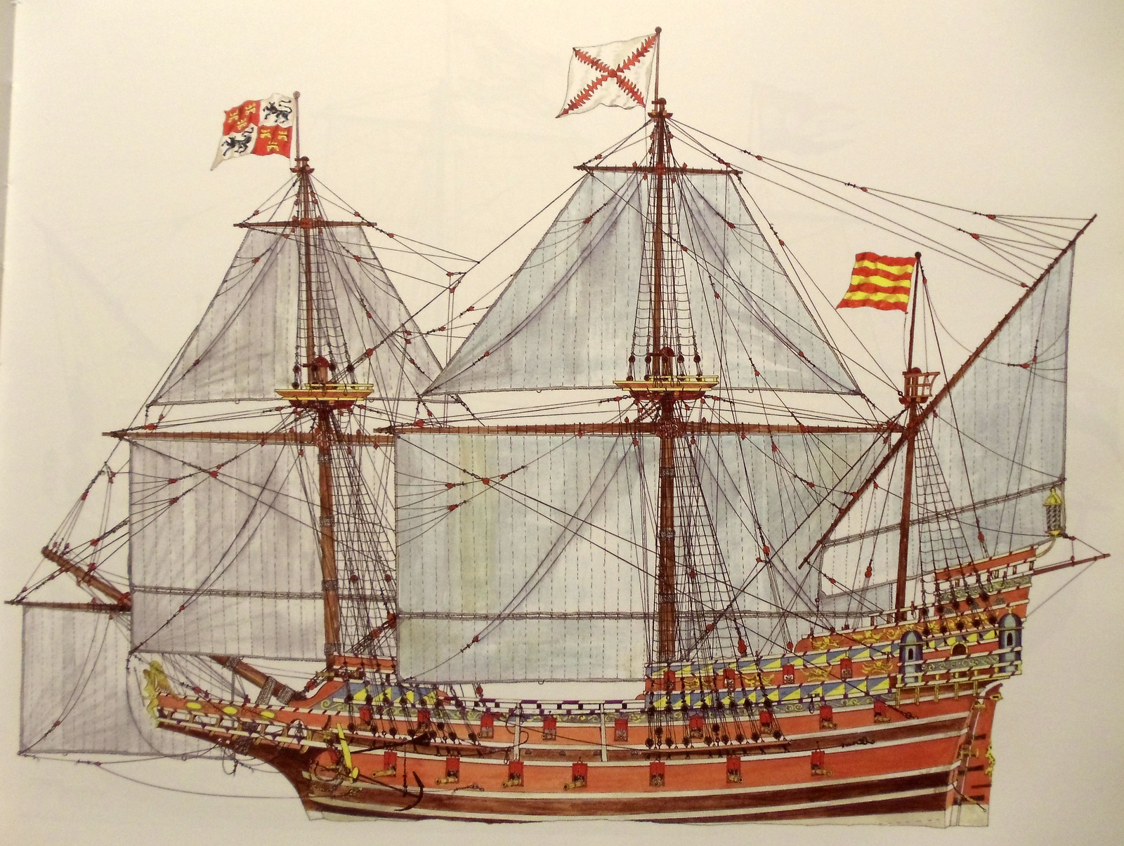 Spanish galleon - Wheatley | by modernknight1