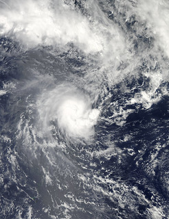 NASA's Aqua Satellite Gets a Visible Look at Tropical Cyclone Evan | by NASA Goddard Photo and Video