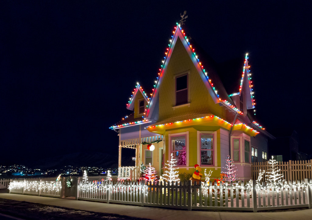 up house christmas lights by deanandrewcom