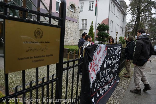 Afghanische Botschaft Hamburg