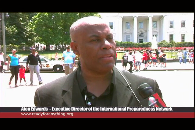 Aton Edwards interviewed after the African American Leadership Summit @ FEMA in Washington DC 2011