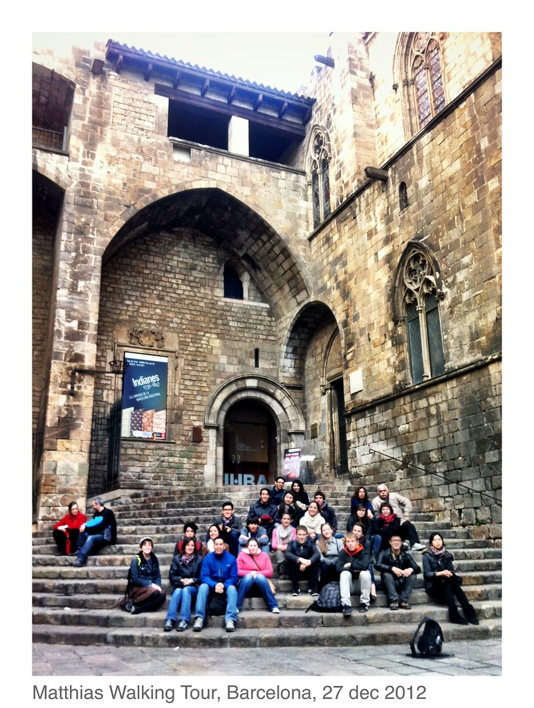 Travel Bar Barcelona Free Walking Tour