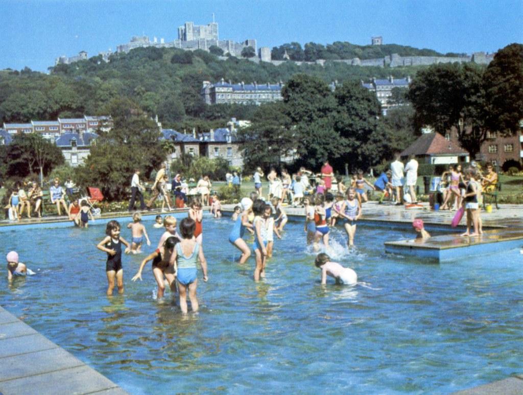 Pencester Park Paddling Pool Dover