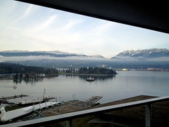 View from Vancouver Fairmont Pacific Rim.
