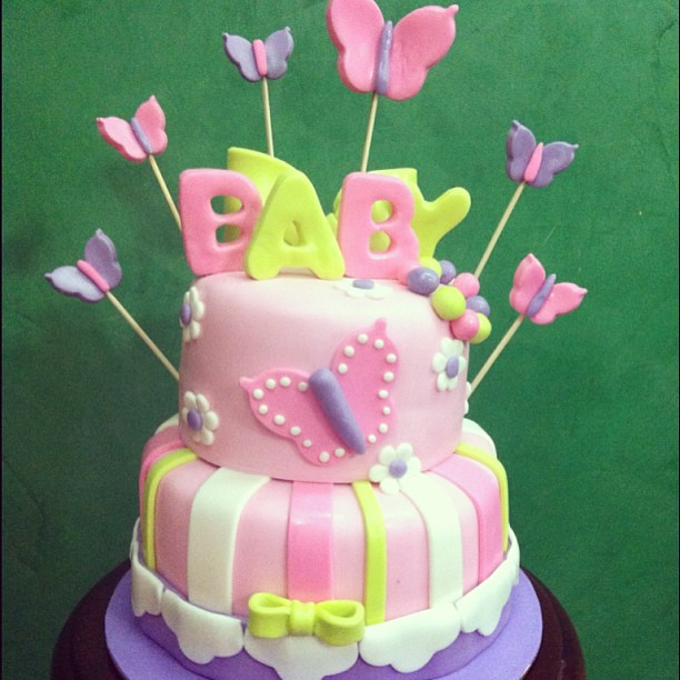 butterfly baby shower cake baby shower cake cake baby shower