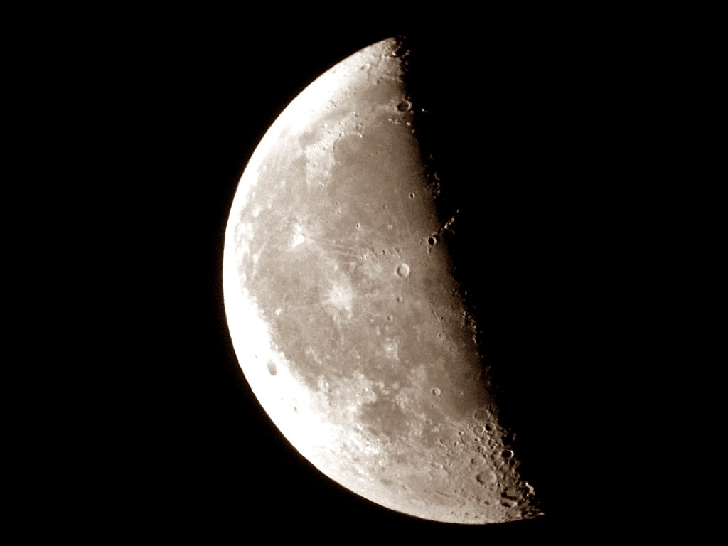 La luna en cuarto menguante la madrugada del 5 de enero for Cuarto menguante de la luna