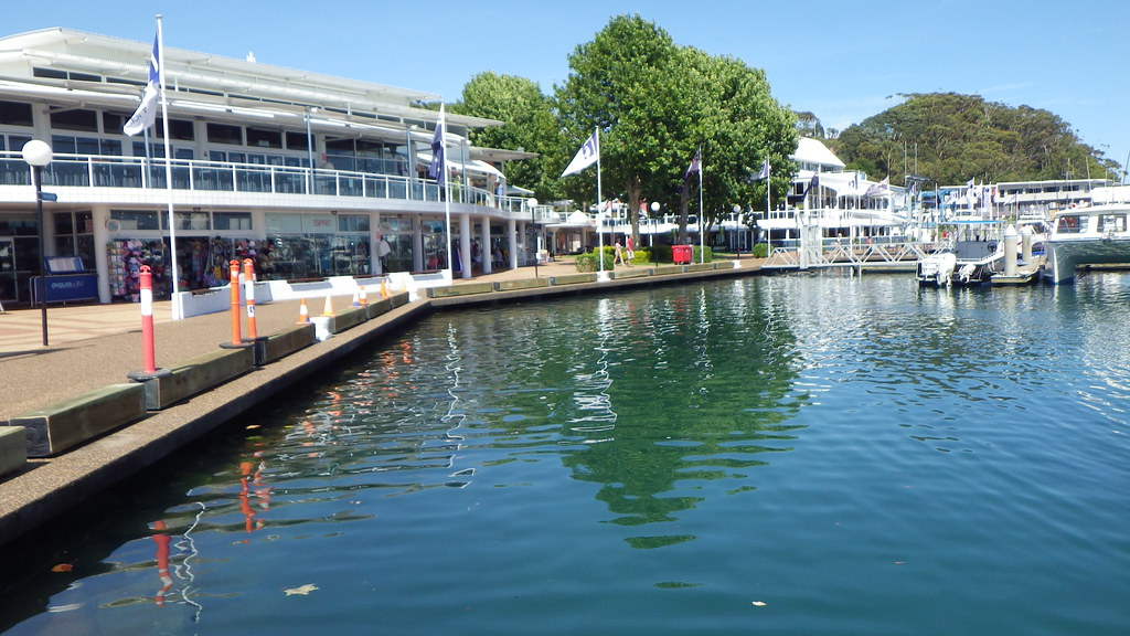 Port Stephens Nelson Bay Marina High Tide Ron Bowditch Flickr