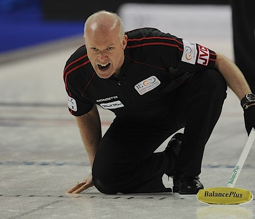 Penticon B.C.Jan10_2013.World Financial Group Continental Cup.Team North America skip Glenn Howard,CCA/michael burns photo | by seasonofchampions