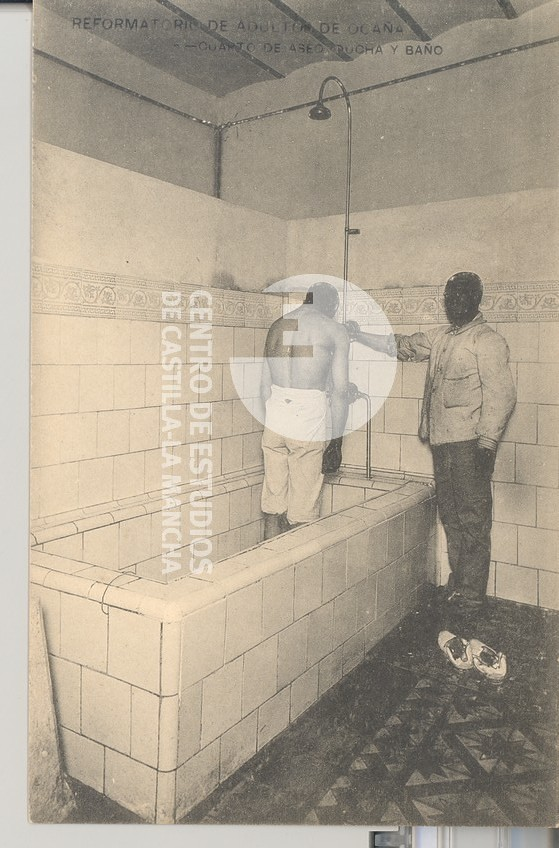 Cuarto de aseo, ducha y baño | Título:Reformatorio de adulto… | Flickr