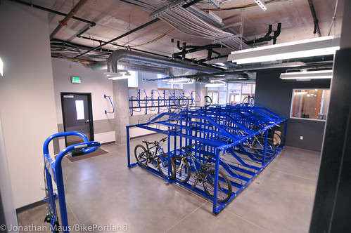 bike parking at Central Eastside Lofts-4