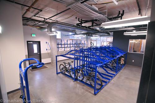 bike parking at Central Eastside Lofts-4