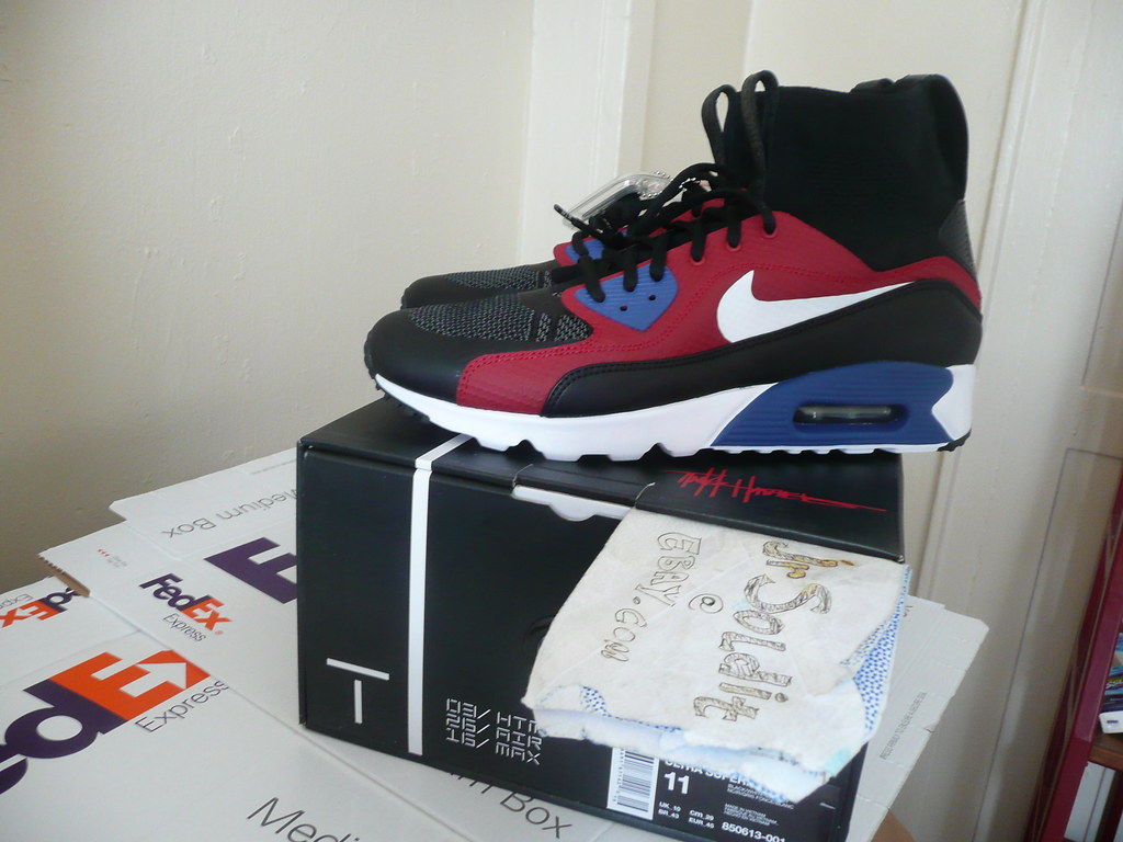 Details about Tinker Hatfield x Nike Air Max 90 Ultra Superfly HTM, Size 11 (2016 AIR MAX DAY)