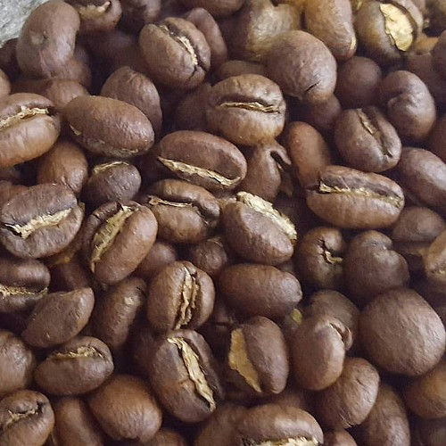 Kenya. Peaberry. Mm-mmm.