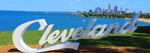 Cleveland Sign Edgewater | by Bruce Kratofil