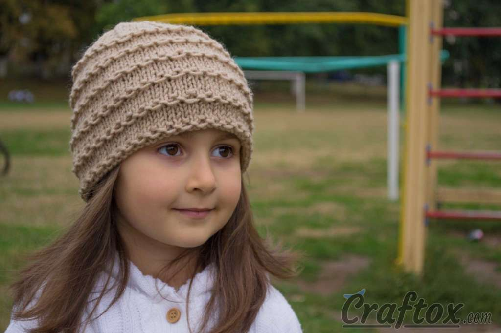 Easy Beanie Knitting Pattern Free See More Craftoxe Flickr