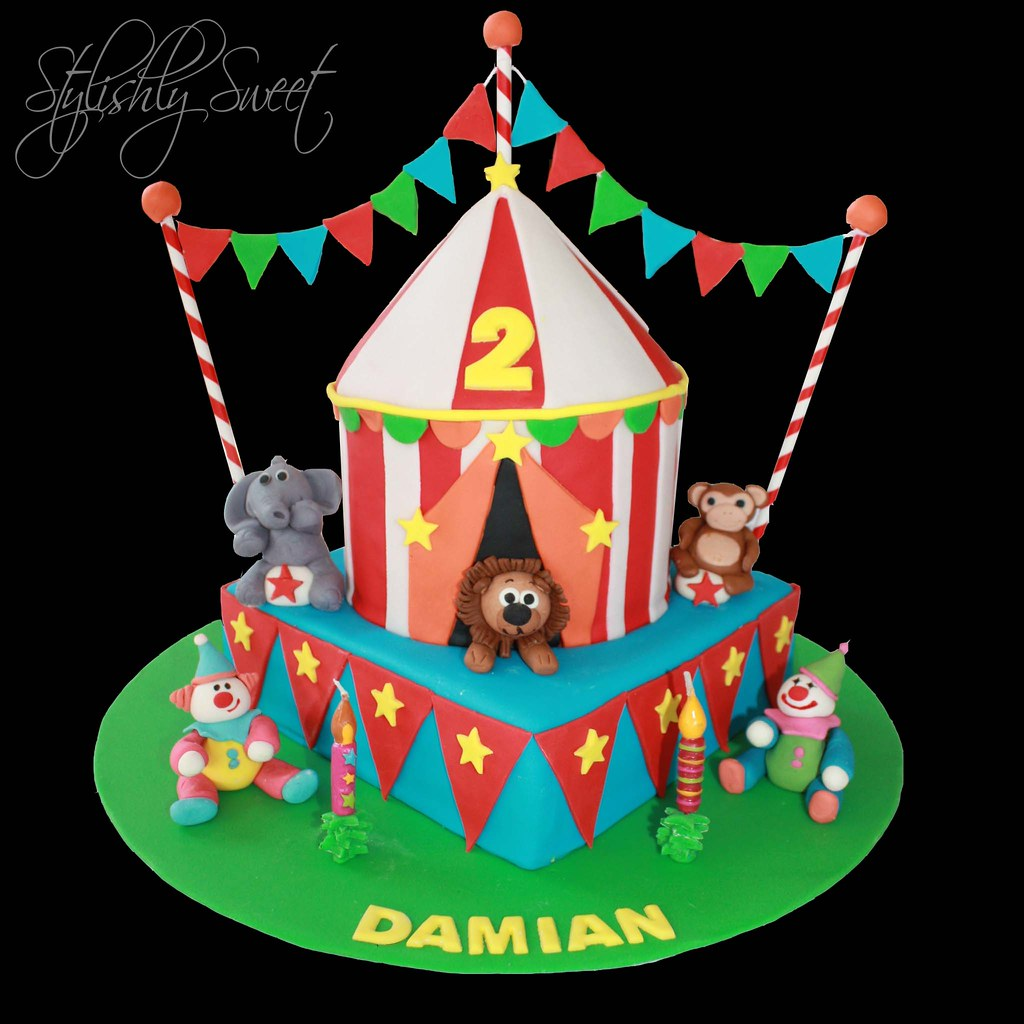 Pictures Of Circus Tent Cakes