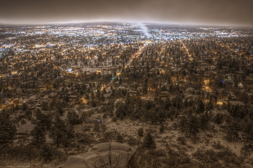 ボルダーの夜景 Night View of the City of Boulder | by Yuya Sekiguchi