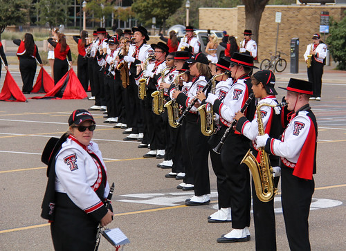 Texas Tech Goin' Band from Raiderland | Andy Reine | Flickr