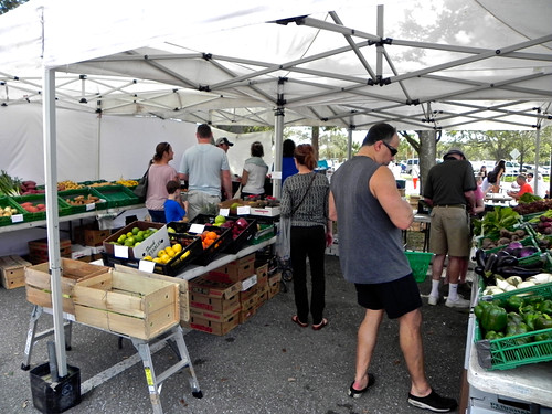 Produce Stand Palm Beach Gardens Green Market Monica Leavell Flickr