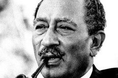 Egyptian President Anwar Sadat | by The Central Intelligence Agency