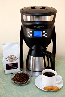Brazen Variable Brewer and Willoughby's coffee beans | by thewanderingeater