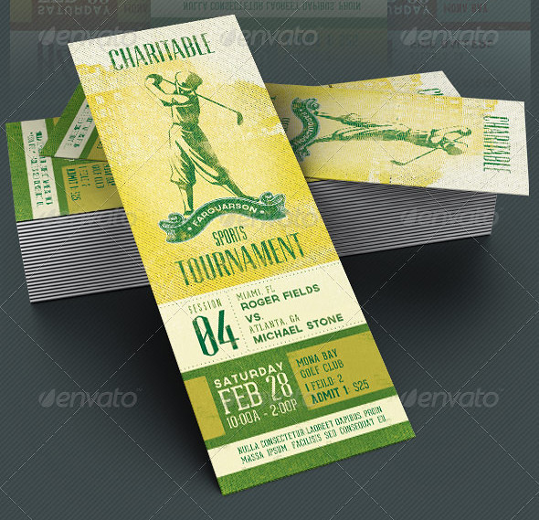 charitable sports event ticket template the charitable spo flickr