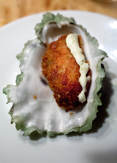 Delightful fried oyster | by digiteyes