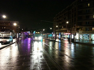 Paris la station de tramway de la porte des lilas 2 flickr - Tramway porte des lilas ...