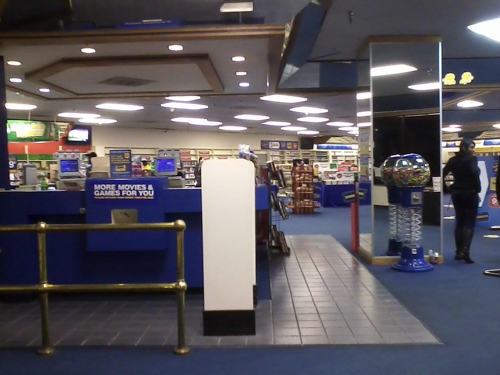 Blockbuster Interior Blockbuster 8 333 Square Feet