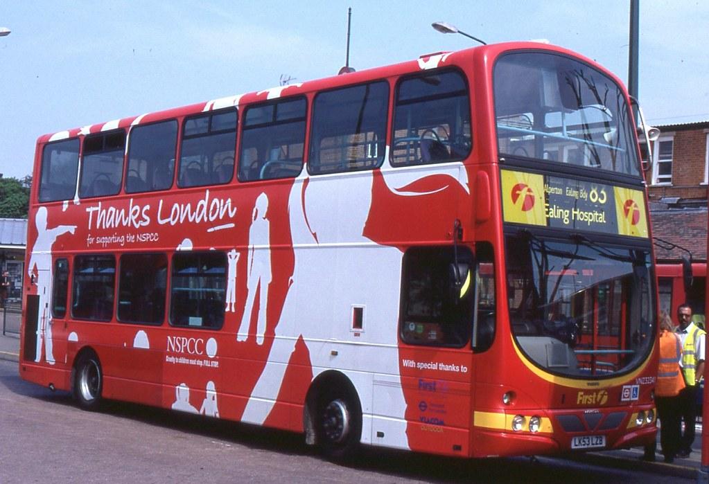 First London Centrewest London Buses Vnz32341 Lk53lzb