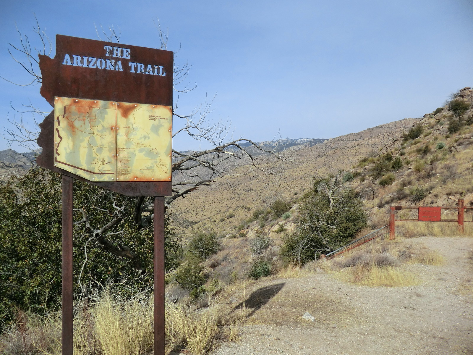 1212 Arizona Trail Sign