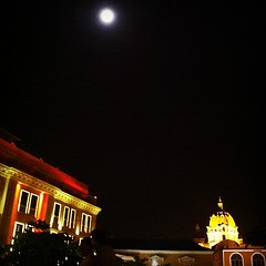 Full Moon over #Cartagena