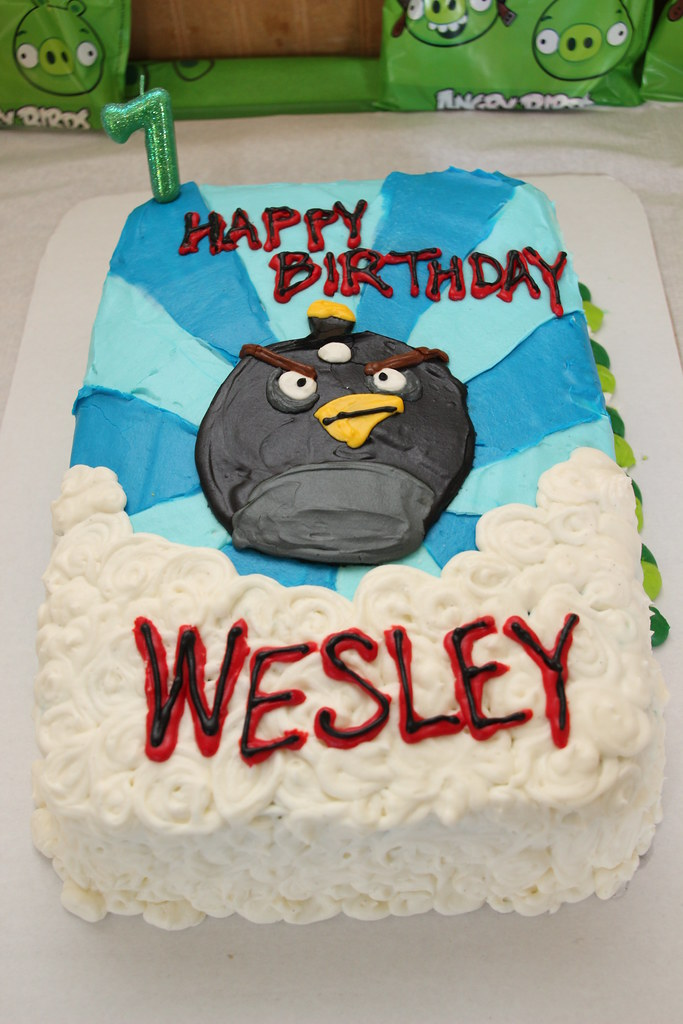 Happy Birthday Wesley Cake