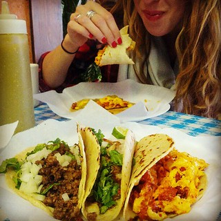 Mexican tacos from La Fruita Feliz in Austin. | by Xeusy