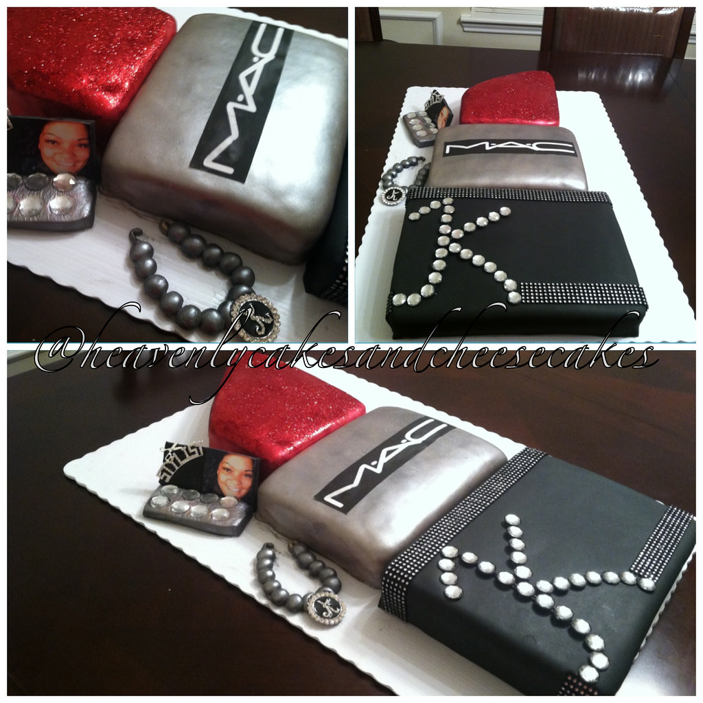 Lipstick Cake: MAC Lipstick Cake
