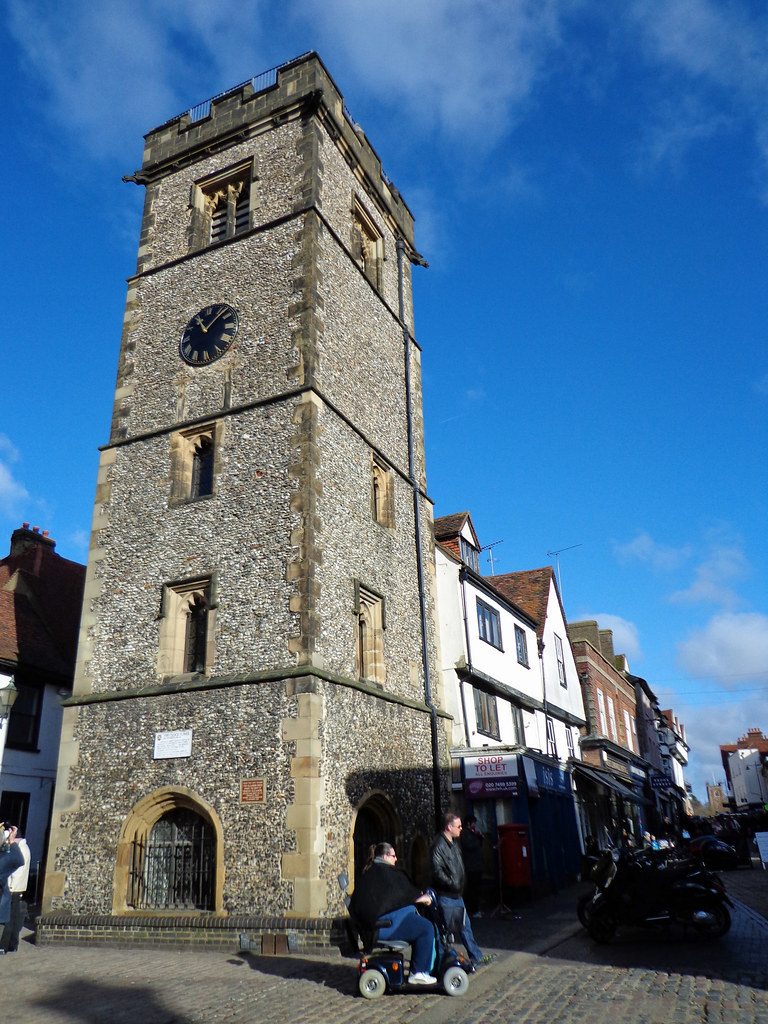 Clock Tower, St Albans | Built by the townspeople as a ...