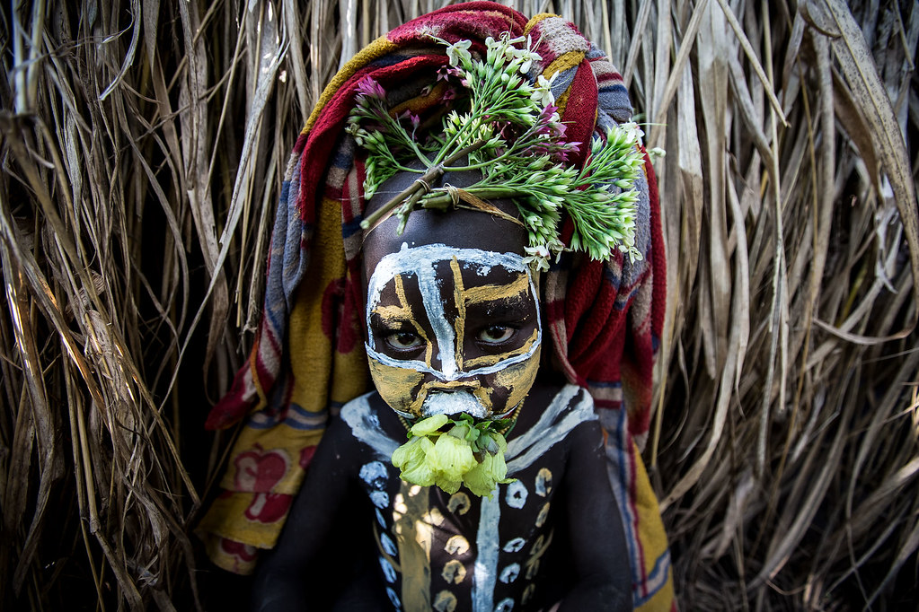 Tribal Painted Face