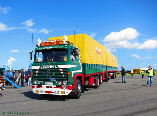 Scania Lbs 140 V8 1973 Bilspedition Yes The Beautiful