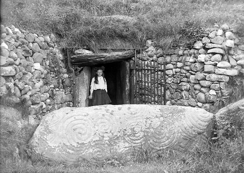 Newgrange | by National Library of Ireland on The Commons