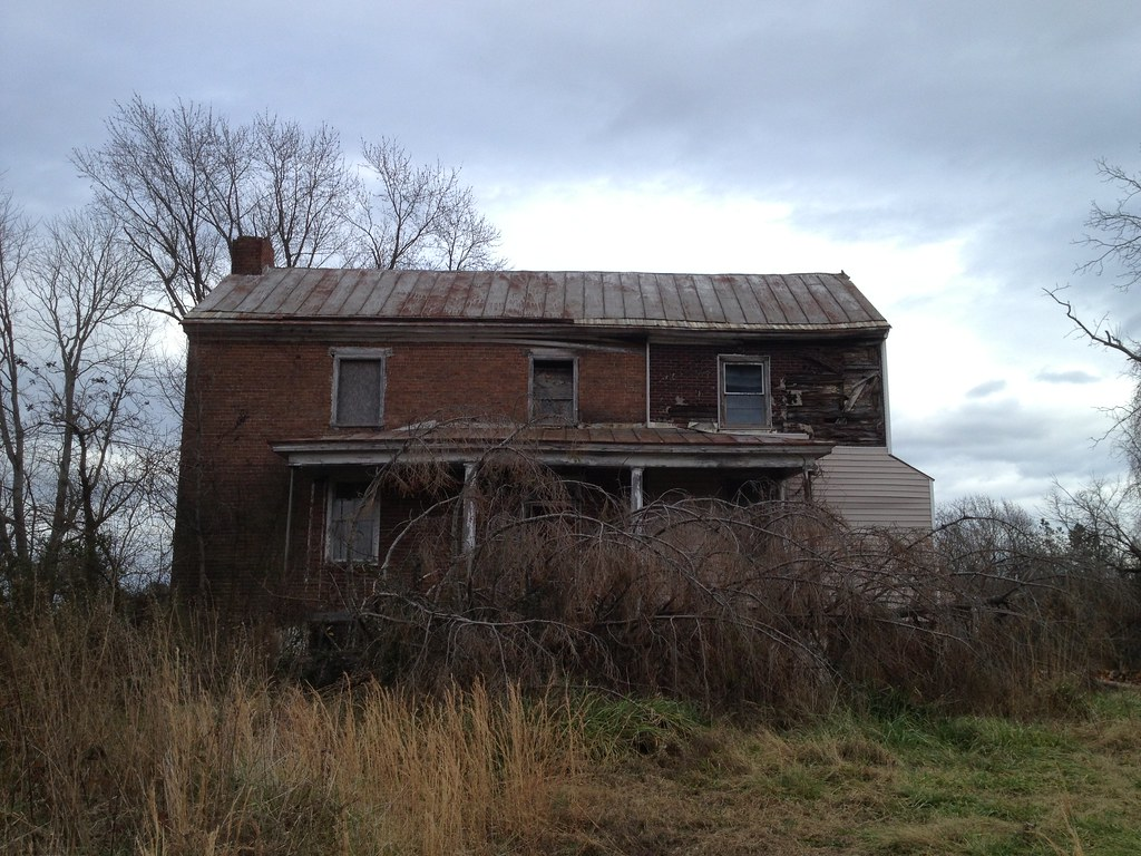 Early 1800s Brick House With Clapboard Addition From1800s