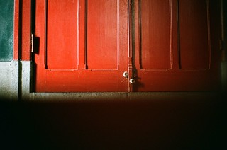 Red Door with Light [Explored] Dec 25, 2012 | by BERT DESIGN