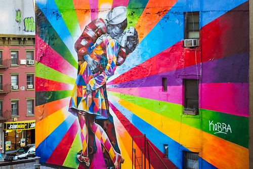 High Line art by Eduardo Kobra | by Chibcha