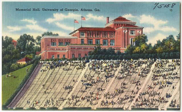 Memorial Hall University Of Georgia Athens Ga File Nam Flickr Photo Sharing