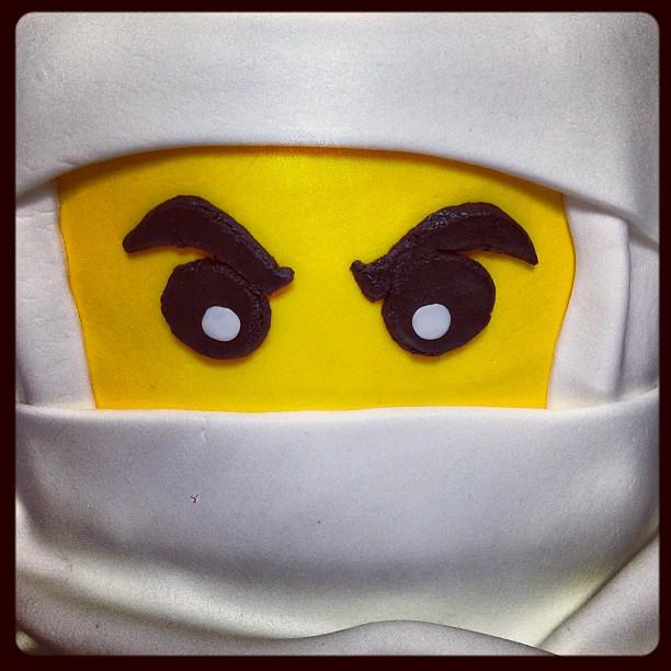 Lego Ninjago Birthday Cake Instructions
