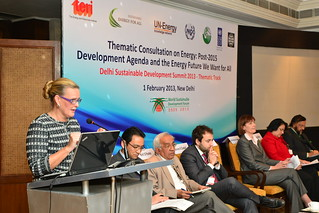Thematic Consultation on Energy: Post-2015 Development Agenda and the Energy Future We Want for All | by UNDP in India