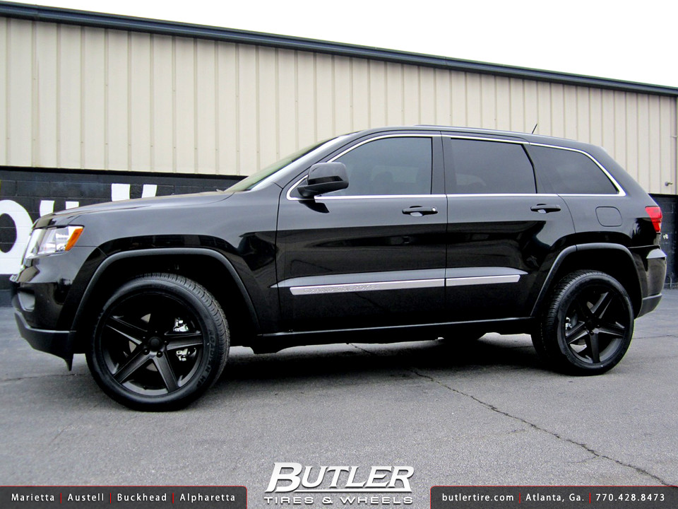 jeep grand cherokee with 22in srt8 wheels additional pictu flickr. Black Bedroom Furniture Sets. Home Design Ideas