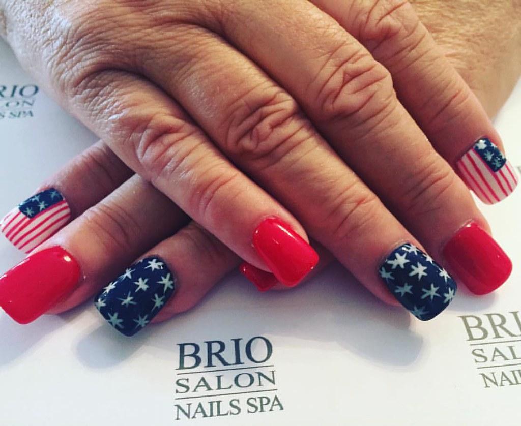 Janel\'s @briospa #nails #naildesigns #nailart #designs #na… | Flickr