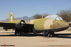 55-4274 JO - 376 - USAF - Martin B-57E Canberra - Pima Air and Space Museum, Tucson, Arizona - 141226 - Steven Gray - IMG_8602