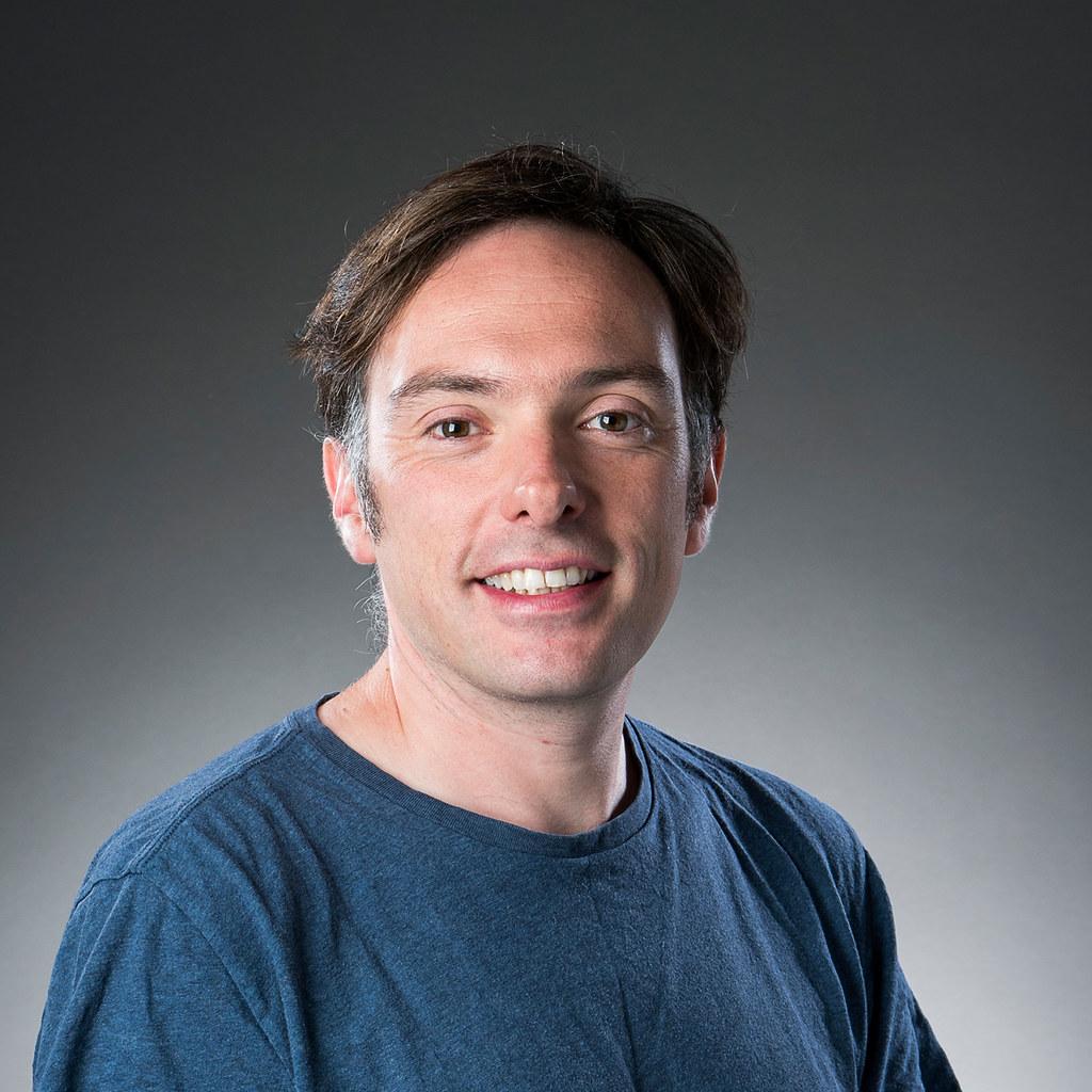 Portrait of Guy McCusker