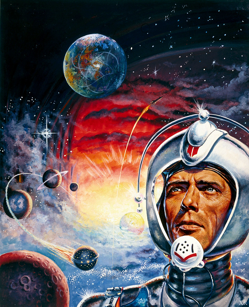 10 Cool Sci Fi Retro Artworks: 1961 ... Perry Rhodan!